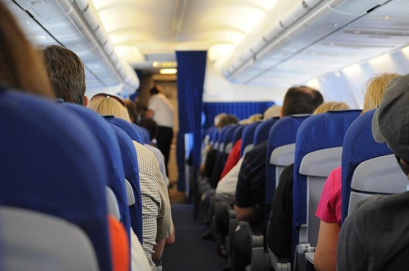 long plane trip